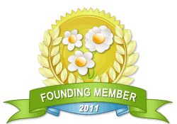 Founding Member achievement earned on 4/13/2012 7:11:29 PM.