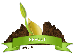 Gardenality Sprout achievement earned on 3/2/2012 10:43:02 PM.