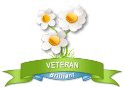 Gardenality Veteran achievement earned on 6/23/2011 4:55:59 PM.
